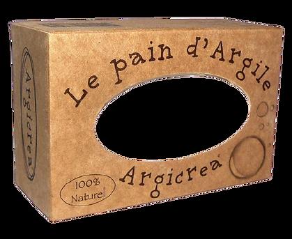 PAIN AU KAOLIN ARGILE BLANCHE