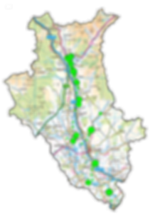 Japanese Knotweed Catchment Map