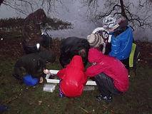 River Annan Fishing for kids