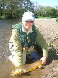 River Annan Trout Fishing