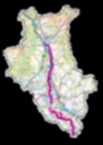 Himalayan Balsam Catchment Map