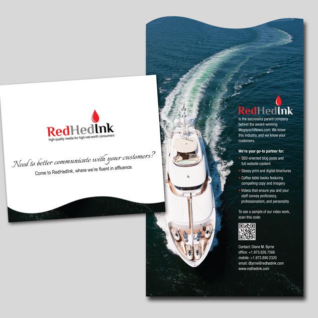 RedHedInk Promotional Card