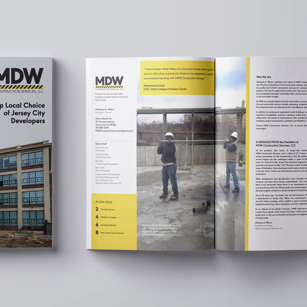 MDW Construction Services Magazine