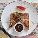 French Toast w/ Valhrona Milk chocolate