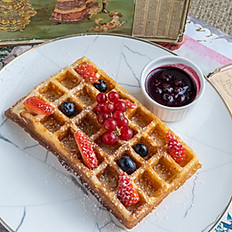 Mixed Berries Waffle