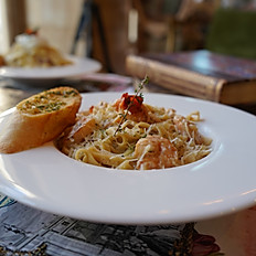 Pâtes aux Crevettes
