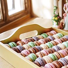 Macaron Tray 80 pieces