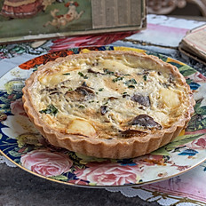 Spinach & Ricotta cheese Quiche