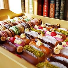 Macaron & Éclair Tray 60 pieces