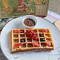 Dark Chocolate Valrhona Waffle