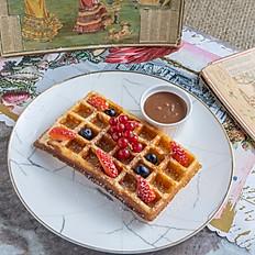 Milk Chocolate Valrhona Waffle