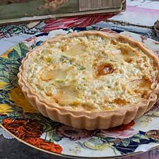 Leek & Comté cheese Quiche