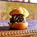 Savory choux spinach & mushroom / 12 pieces