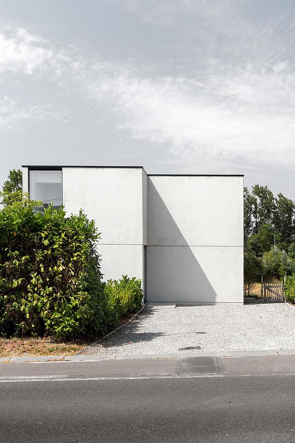 MVDB architectuur Milos Van den Berge Lauwe beton modern