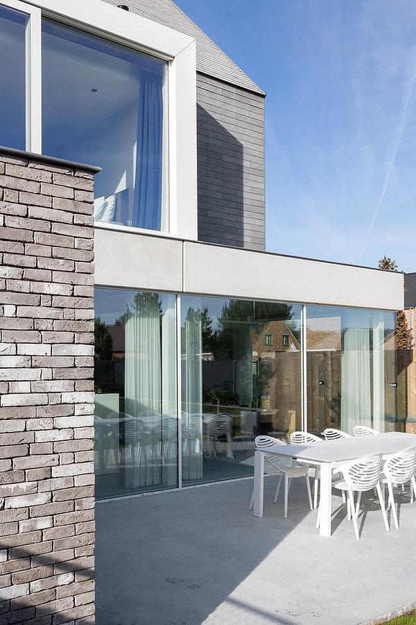 MVDB architectuur Milos Van den Berge Kalken modern