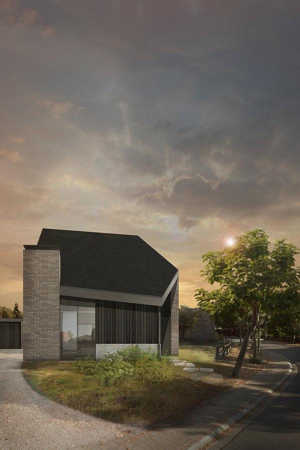MVDB architectuur Milos Van den Berge to