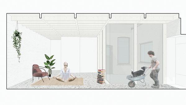 MVDB architectuur Milos Van den Berge