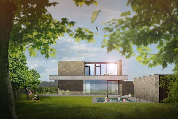 MVDB architectuur Milos Van den Berge mo