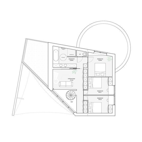 MVDB architectuur Milos Van den Berge Laarne postmodernisme