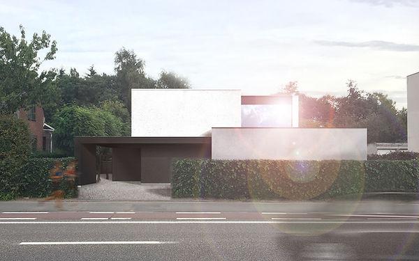 MVDB architectuur Milos Van den Berge modern