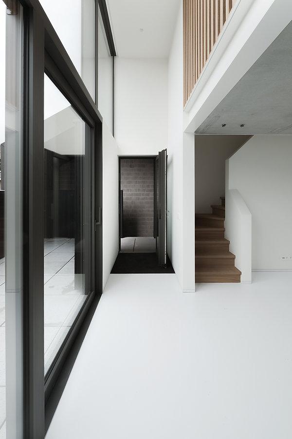 MVDB architectuur Milos Van den Berge Kalken brutalisme