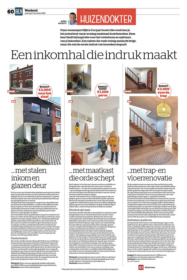 MVDB architectuur Milos Van den Berge HLN