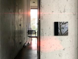 Design-Lichtschalter Schwarzes Glas