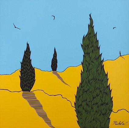 Italian Cypresses
