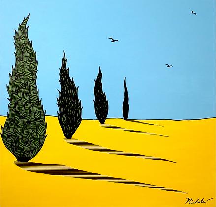 Italian Cypress lll