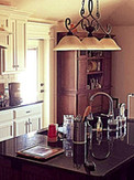 dome ceiling kitchen