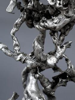 Candélabre - 2013 - Bronze Argenté