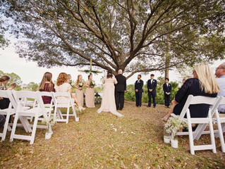 Madison and Jason get married - Windover Farms