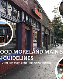 Sellwood-Moreland DRAFT Main St Design G