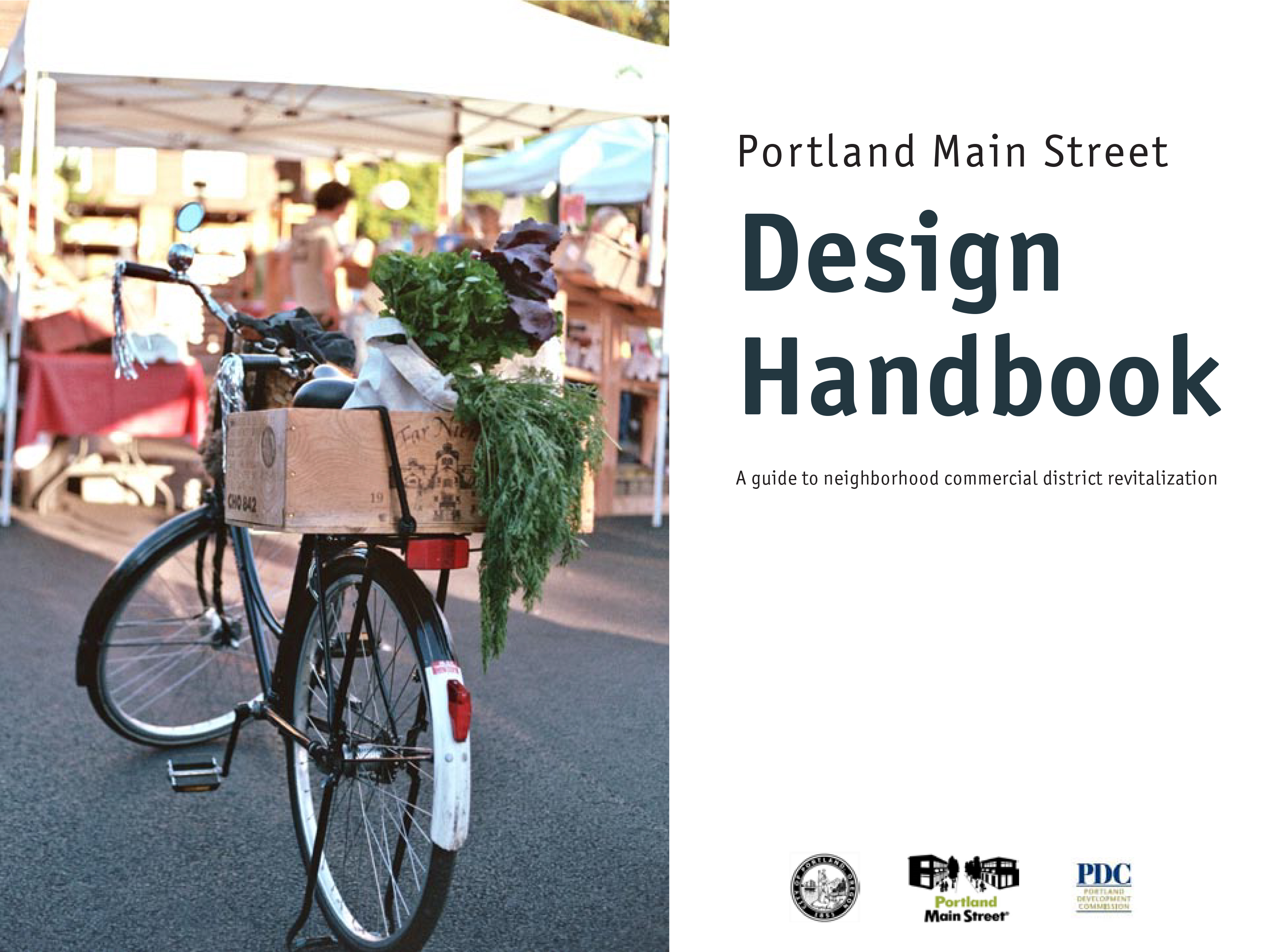 Main Street District Design Handbook-Cov