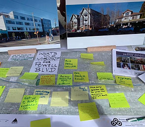 Powell visioning at Division St. Fair.jf
