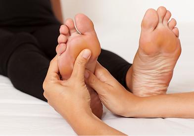 pied massage reflexologie
