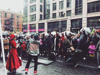 Street Ramen Contest in Manhattan