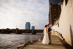 Jessica & Shane Downtown Grand Rapids