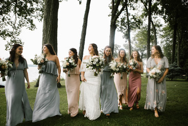 Mandi & Bridesmaids