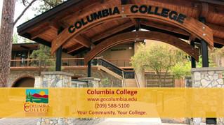 Regal Cinemas ad for Columbia College