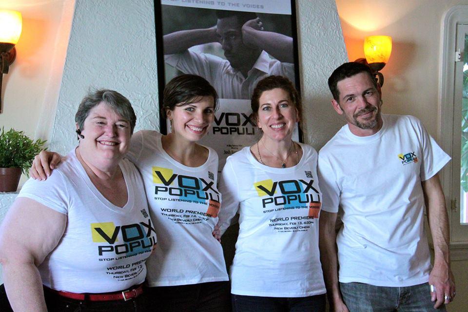 Vox Populi poster w cast