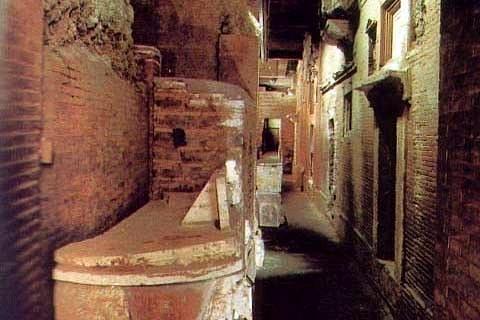 Foto dal Ufficio Scavi, Città del Vaticano (http://www.scavi.va/content/scavi/it.html)