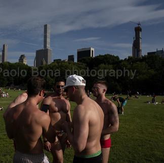 Gay gathering