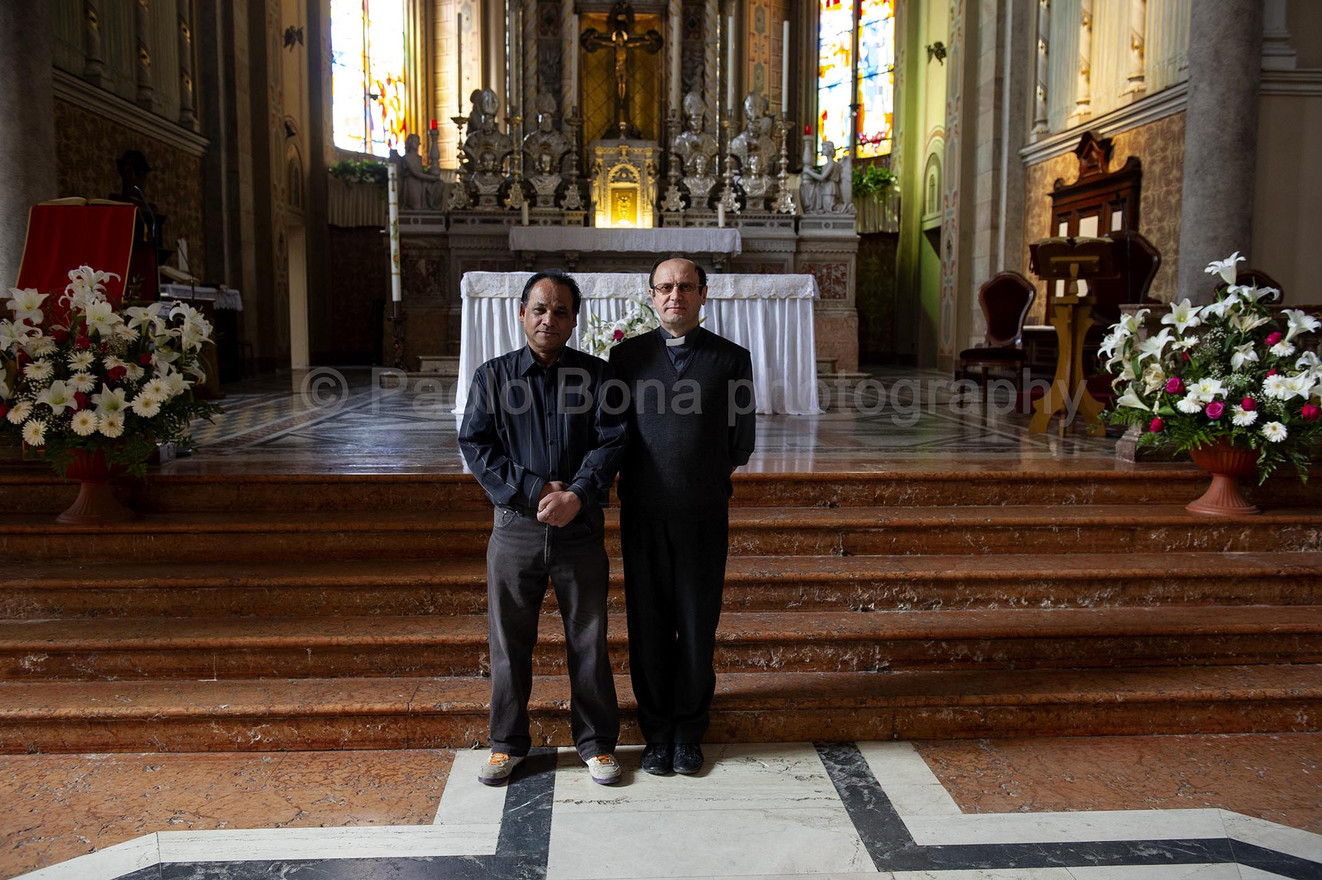 Takeswur and the priest