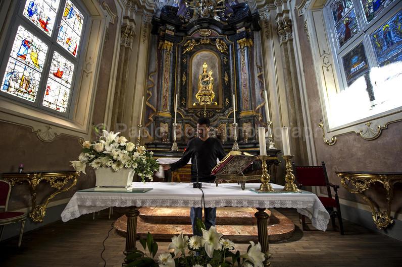 Chapel's altar