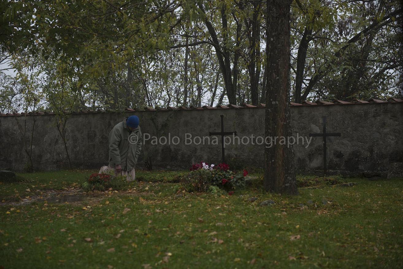 Dossetti's grave