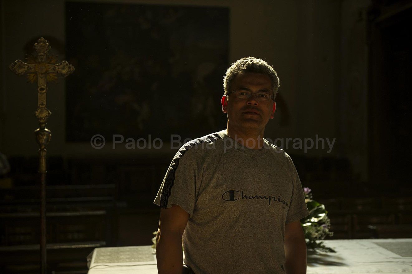 Portrait of Luis
