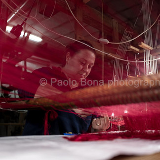 Ancient weaving of Venice
