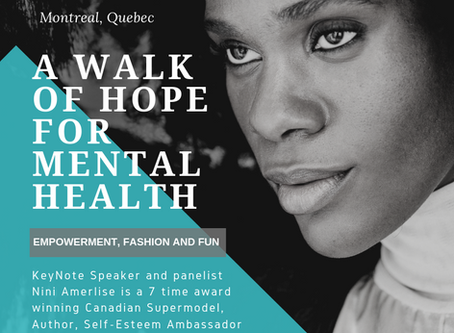 Nini Amerlise Joins as Mental health Advocate in Montreal