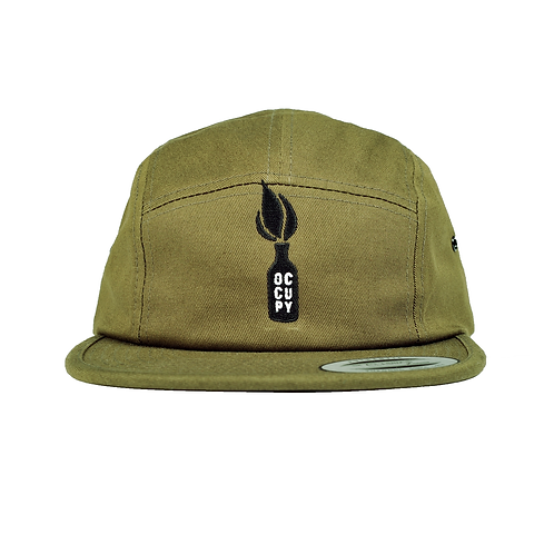 OCCUPY SKATEBOARDS: 5 PANEL HAT